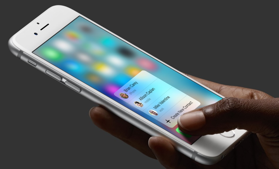3D Touch 6s