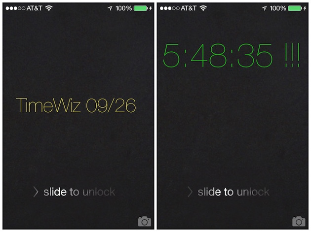 TimeWiz tweak