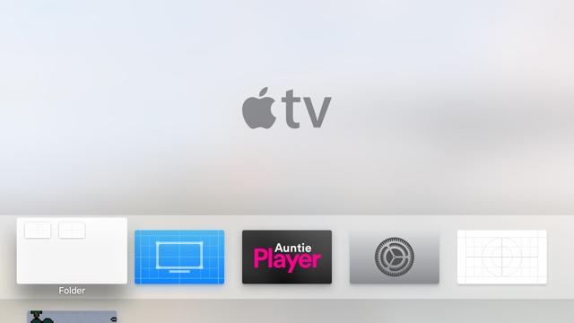 Apple TV Folders hack1
