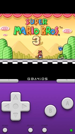 GBA4iOS emulator