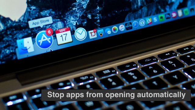 Apps Startup Setting Mac