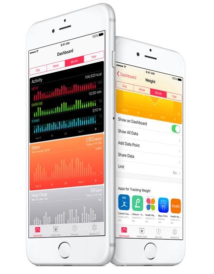 Health app iOS