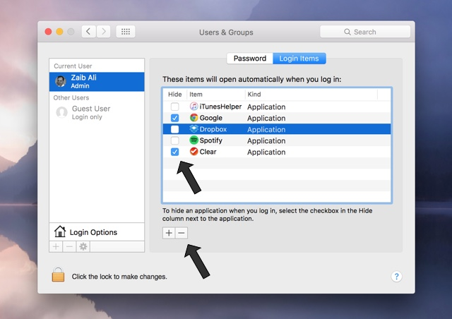 Mac apps automatic open (2)