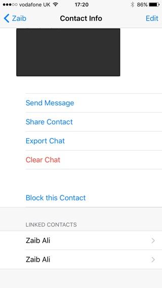 WhatsApp Export chat