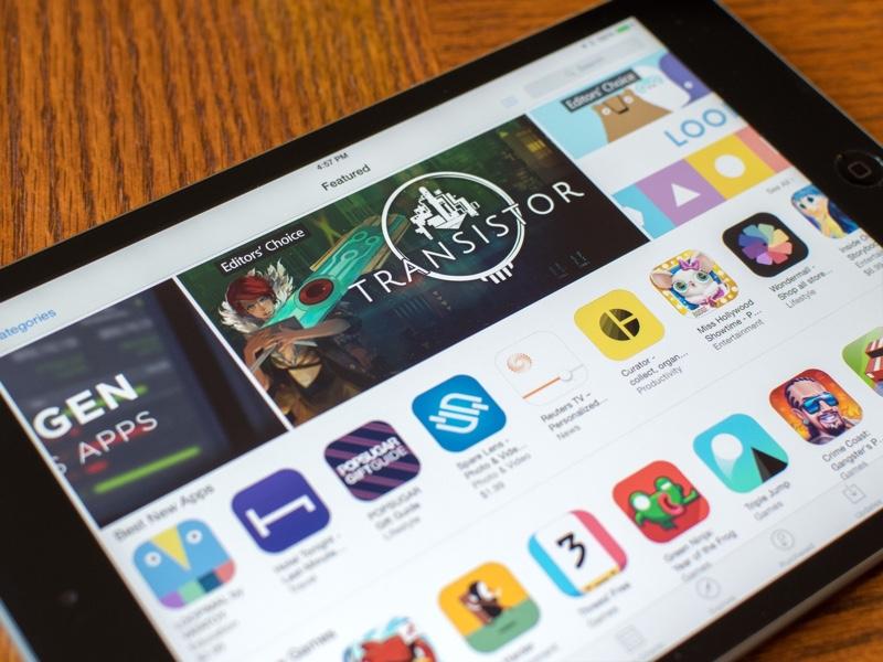 iPad games app store