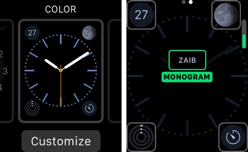 Apple Watch Monogram 1