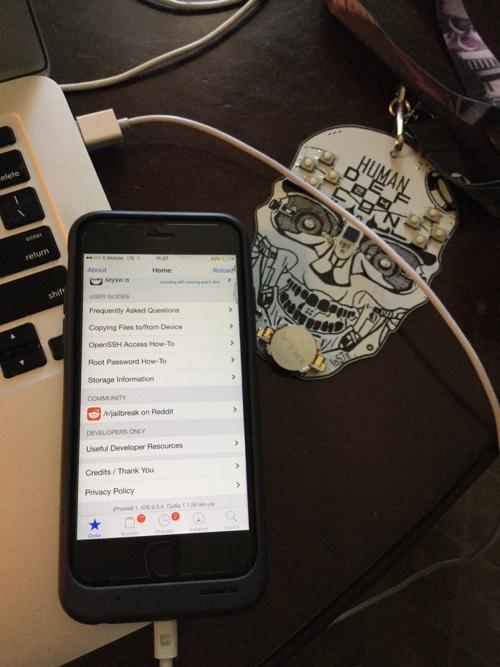 iOS 9.3.4 Cydia