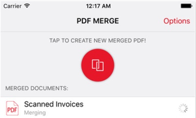 merge pdf documents into 1