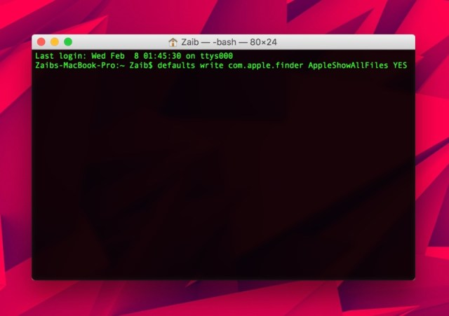 hidden folder iphone how to show all files on mac with a terminal 6990