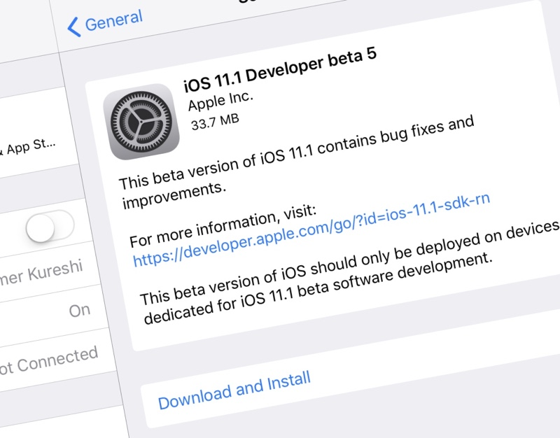 download ios 11.4 beta 5 ipsw