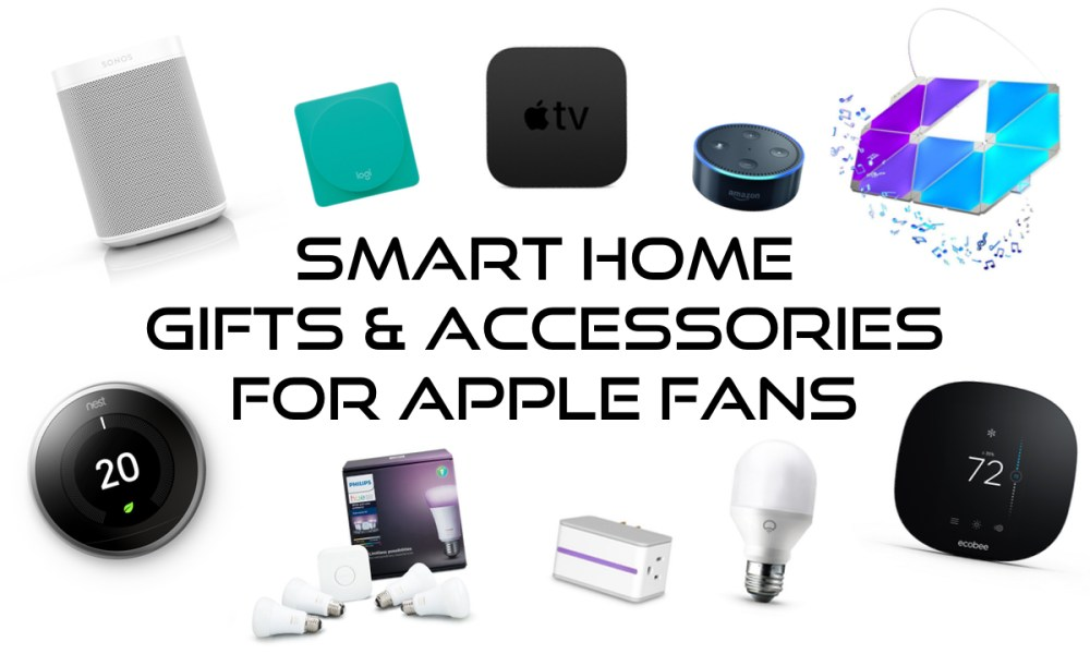 great smart home gifts and accessories for apple fans 2018 gift guide ios hacker. Black Bedroom Furniture Sets. Home Design Ideas