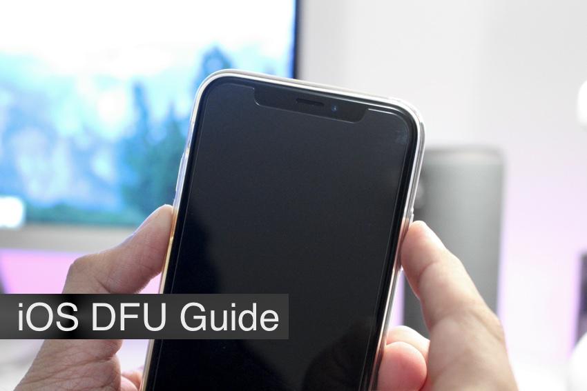 DFU restore iPhone