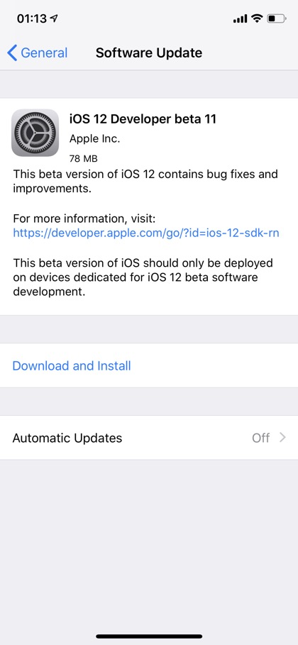 apple public beta ios 12