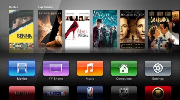 La interfaz del nuevo Apple TV fue descartada por Steve Jobs hace cinco años