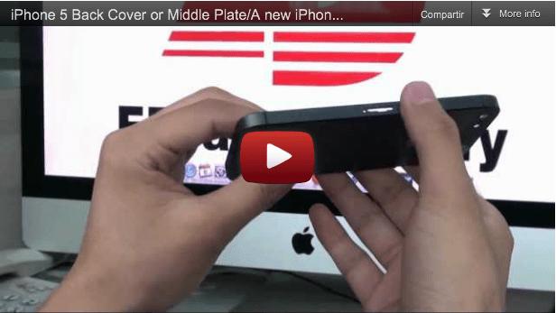 Video: Posible iPhone 5 de metal