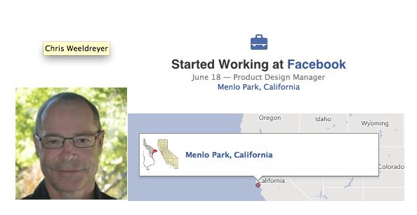 Facebook contrata a Chris Weeldreyer ex-gerente de Apple, diseño iOS
