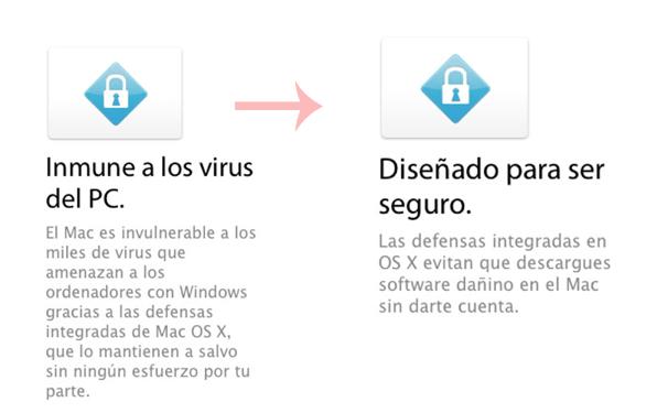 Apple cambia su política de comunicación respecto a los virus