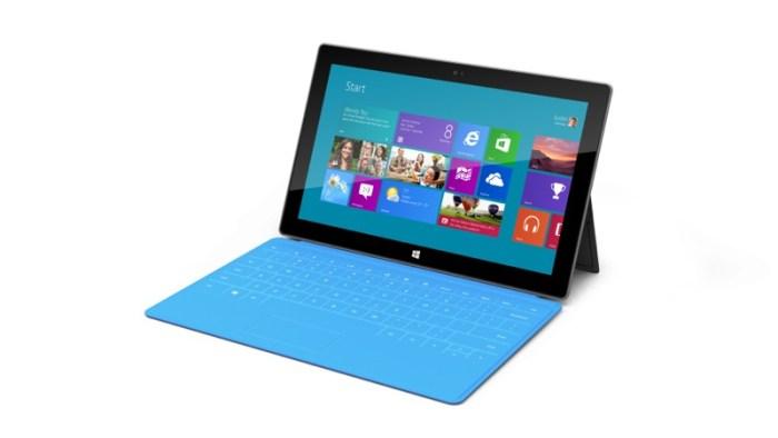 Microsoft lanza Surface su tablet con Windows 8