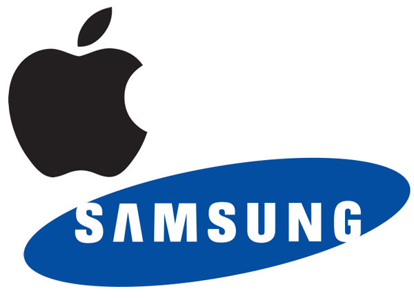 Apple-Samsung-Logos