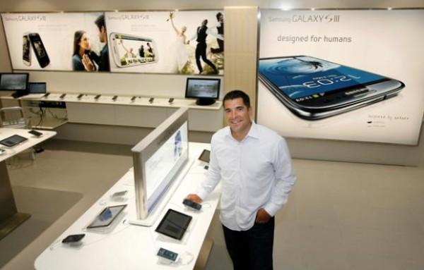 Samsung lanza su primera Store en EE.UU, idénticas a las Apple Store
