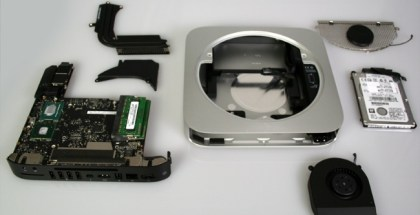 despiece del nuevo Mac mini