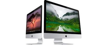 Los nuevos iMac finalmente no se retrasarán a 2013