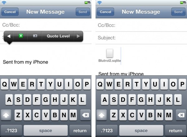 Attachments+  nuevo Tweak de Cydia
