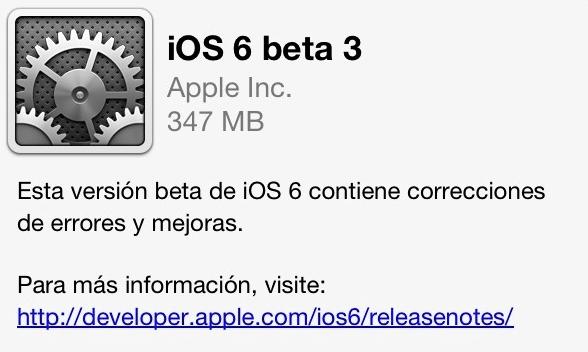 iOS 6.1 Beta 3 --- a