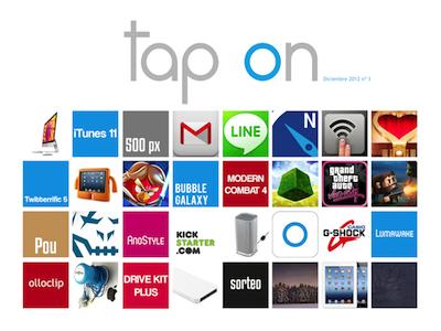 Disponible el tercer número de Revista Tap On que despide el año 2012