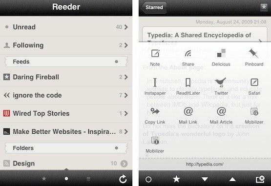 reeder-app-ipad