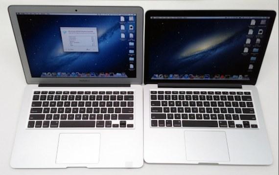 macbook pro y air