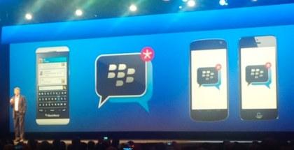 BlackBerry Messenger para iOS