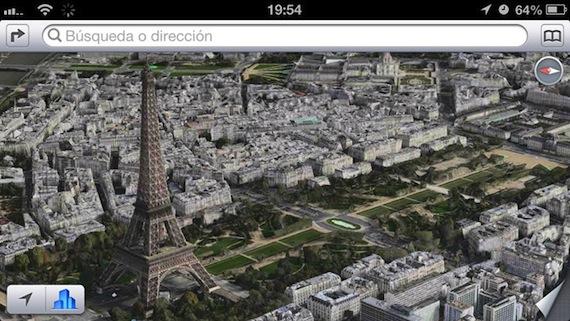 Paris en tres dimensiones Flyover