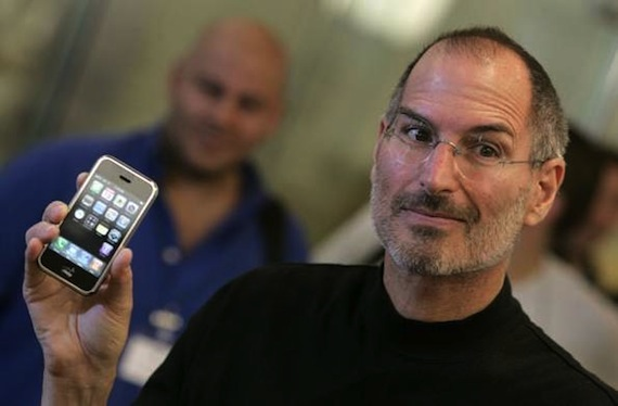 primer iPhone-intel-Steve Jobs