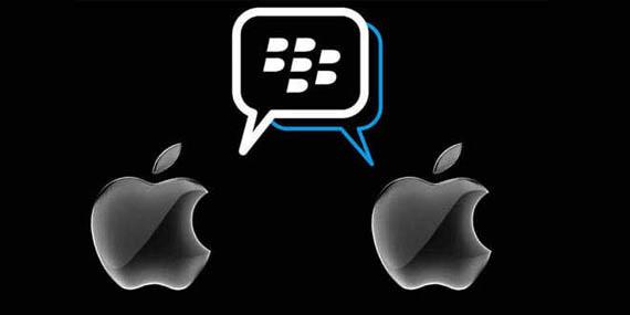 blackberry messenger ios