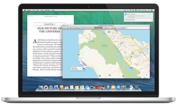 OS X Mavericks-mapas