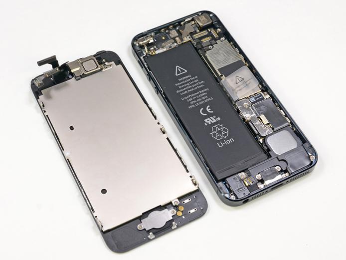 Batería del iPhone 5S de Apple un 10% más grande.