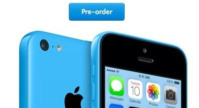 Disponible el iPhone 5C para pre-orden