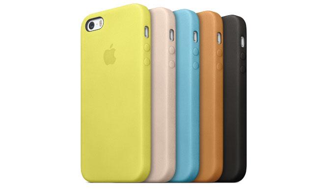 Fundas y nuevos cargadores para el iPhone 5S y el iPhone 5C de Apple.