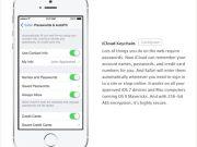 iCloud Keychain desaparece iOS 7 GM