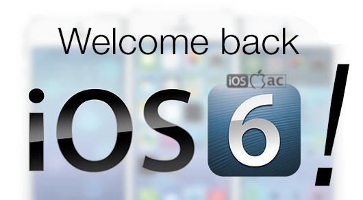 ios6-downgrade de iOS 7 a iOS 6 en el iPhone 4