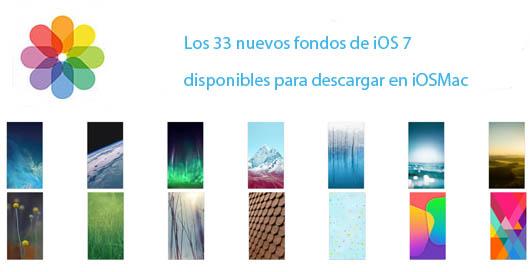 33 nuevos Wallpapers de iOS 7