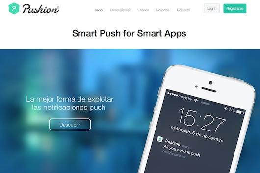 Pushion-push