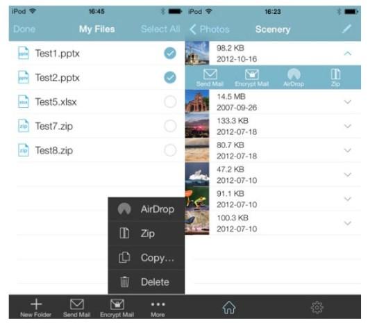 WinZip para iOS 7-i
