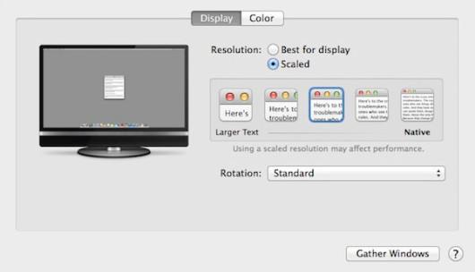 OS X 10.9.3 Mavericks tendrá apoyo para pantallas Retina 4k