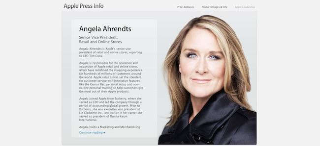 Angela Ahrendts-apple-iosmac