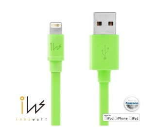 [Apple MFI Certified] Innowatt® Piso USB Lightning verde