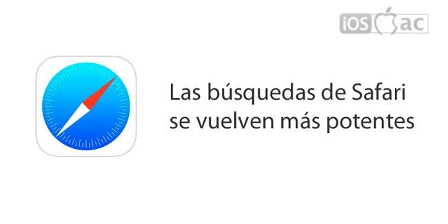 Búsquedas avanzadas en Safari disponible en iOS 8 beta 4