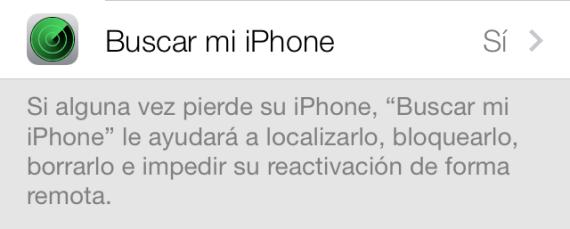 Buscar mi iPhone Apple