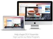 beta pública de OS X 10.10 Yosemite